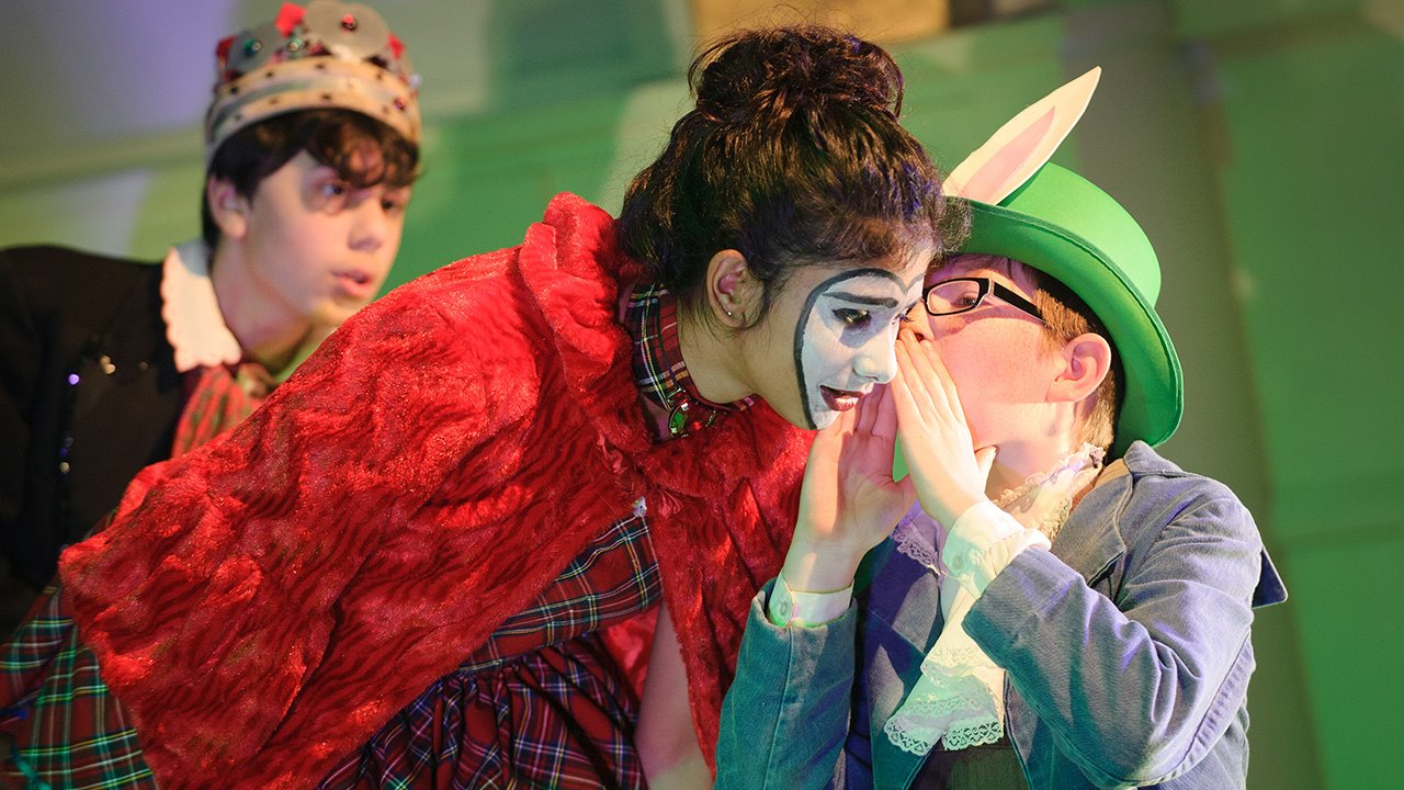 Alice in Wonderland Drama at Brighton College