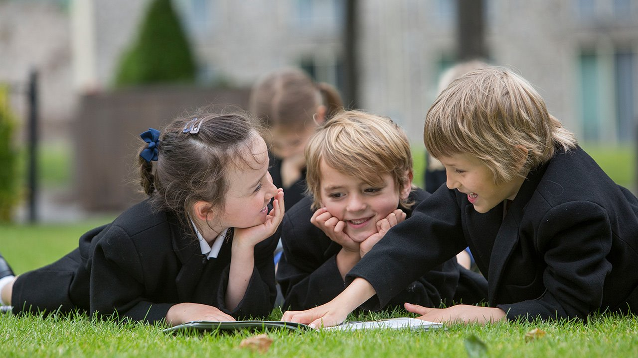 Pre Prep & Prep co-ed pupils on grass(landscape).jpg