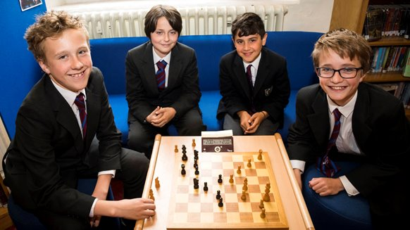 Brighton College chess butler cup a-team
