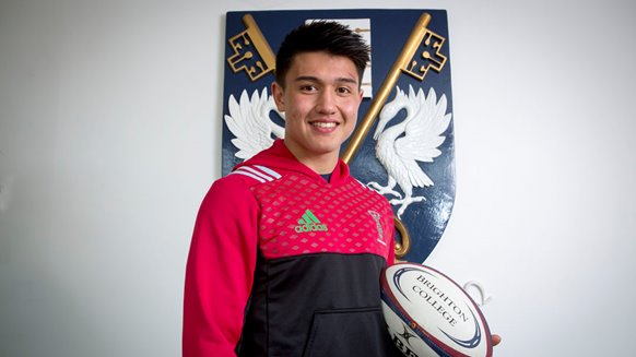 Brighton College Marcus Smith rugby