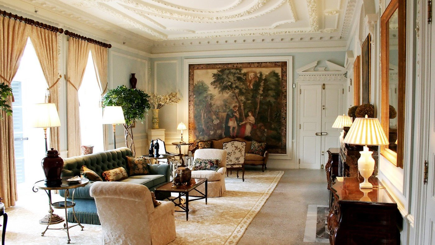 Drawing from the drawing room (Photo Credit: The Mount, Edith Wharton's Home, Lenox, Massachusetts)